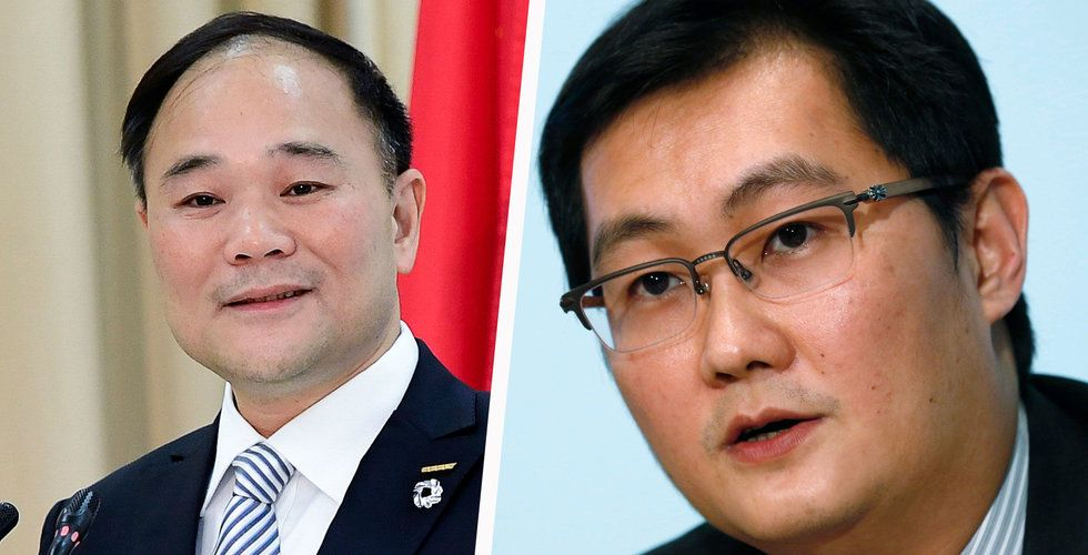 Breakit - Geelys ordförande Li Shufu i ordkrig med kinesiska jätten Tencent