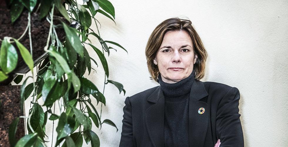 """Isabella Lövin: """"Vi måste dra lärdomar av den här krisen"""""""