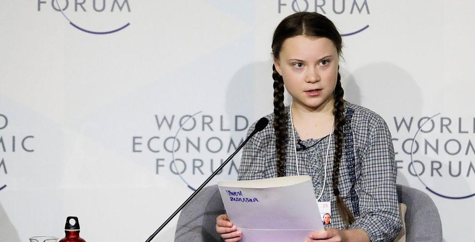 We don't have time använde Greta Thunberg för att locka investerare
