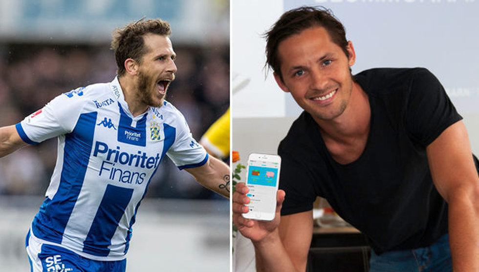 Fotbollsstjärna tar in miljonkapital från Tobias Hysén och Qviberg