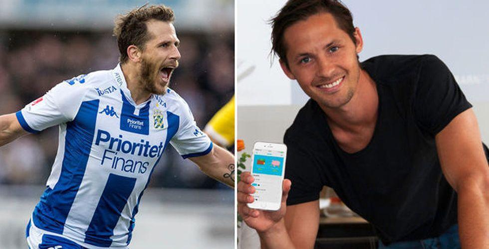 Breakit - Fotbollsstjärna tar in miljonkapital från Tobias Hysén och Qviberg