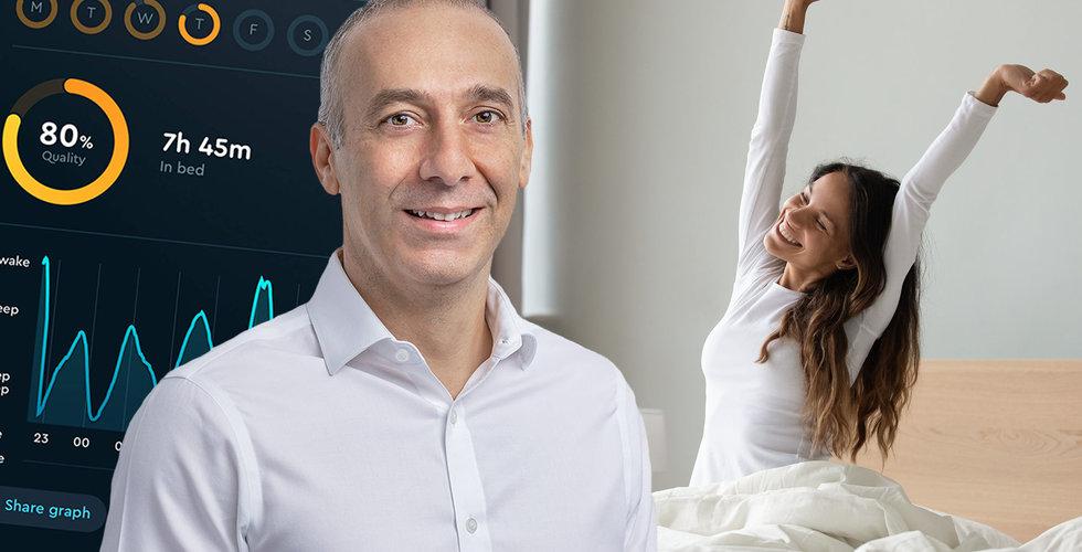 Pierre Siri gör nytt drömklipp – 450 miljoner kronor på sömnappen Sleep Cycle