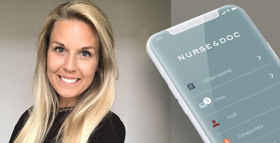 Nurse & Doc fixar personal åt nätläkarna – ska sjufaldiga omsättningen