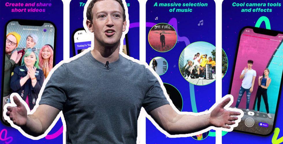 Facebook lanserar Lasso och tar upp kampen med Tiktok