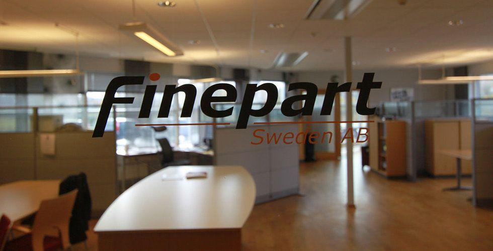 """Genombrott för Finepart – får order från Google: """"Ett av våra största framsteg"""""""