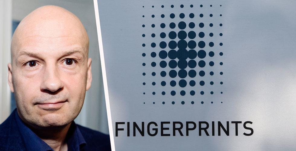 """Fingerprint långt under förväntningarna: """"Är utmanande"""""""