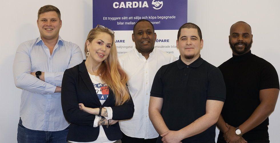 Dålig bilaffär blev starten för Cardia – tar in 5 miljoner kronor