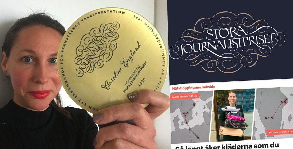 Historiskt: Breakit-journalister nominerade till Stora Journalistpriset