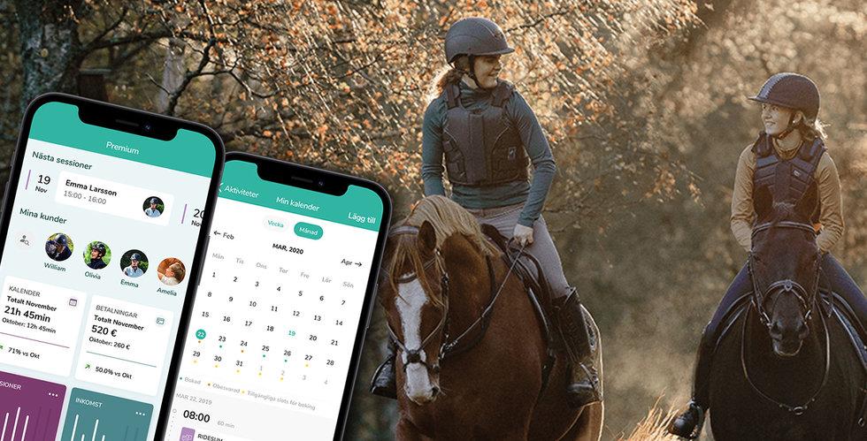 Ridesum vill göra livet lättare för ryttare – plockar in nya miljoner