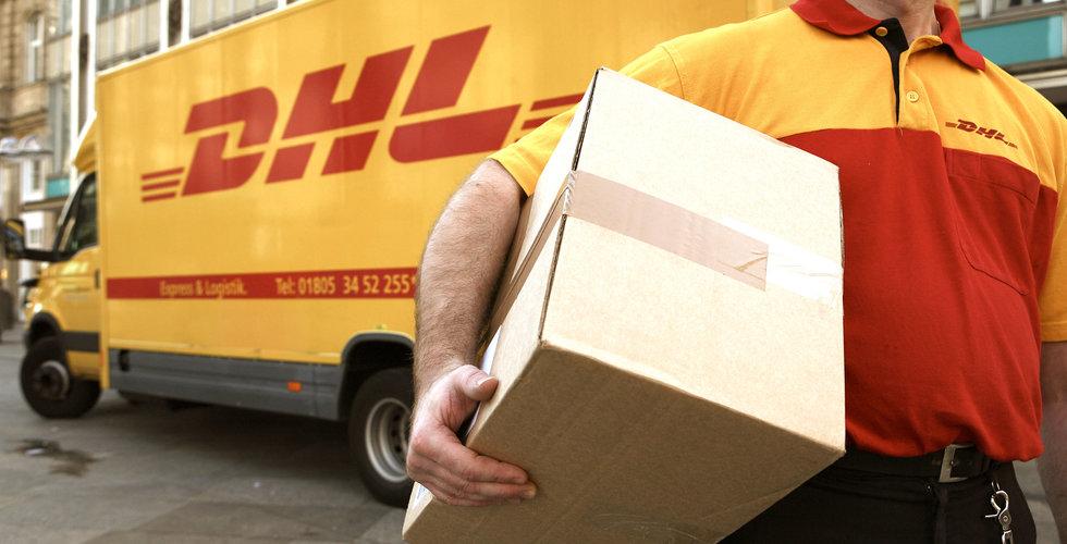 Fraktjätten DHL ska ställa ut fler paketautomater i Sverige