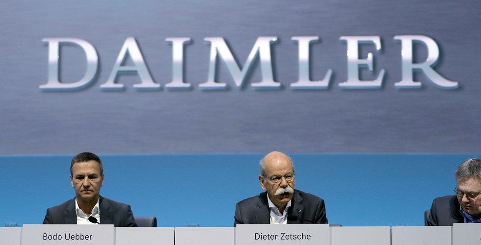 Daimler ska testa taxiapptjänst i Berlin