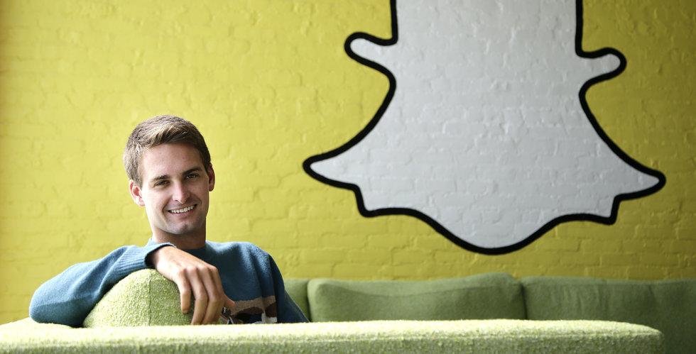 Snapchat har i det tysta bildat ett svenskt bolag