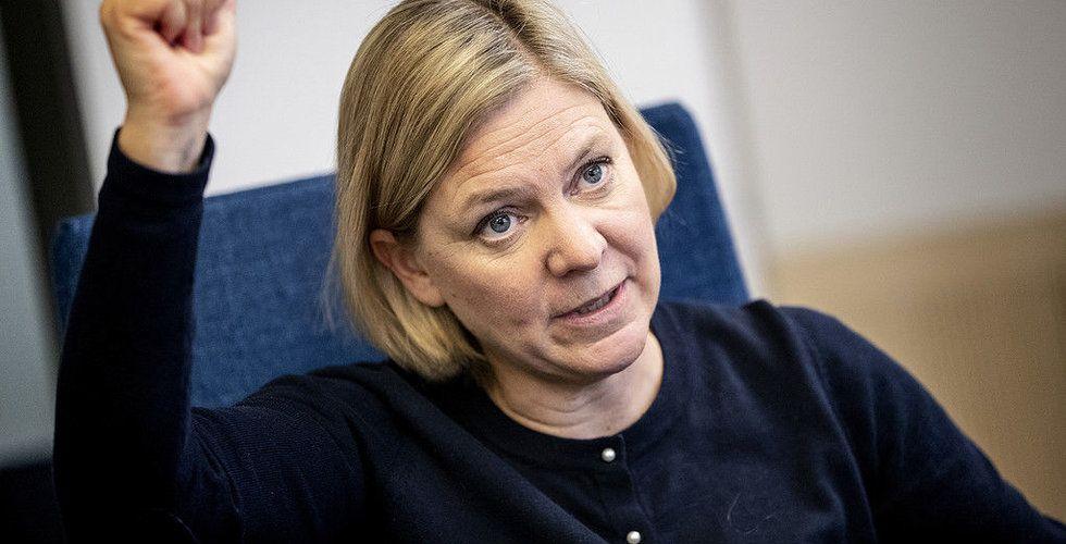 Magdalena Andersson: Nej till EU:s nya digitalskatt