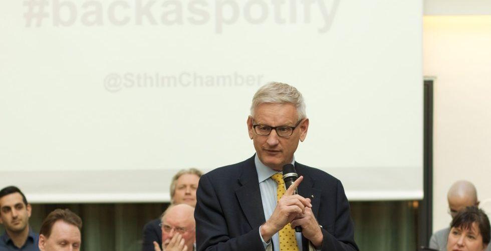 "Breakit - Carl Bildt om Spotify-brevet: ""Vi behöver fler talanger i Sverige"""