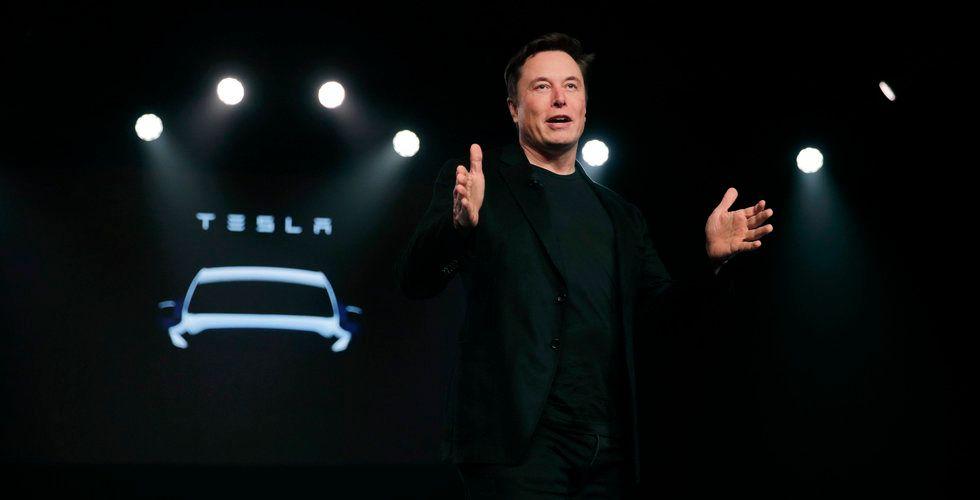 Tesla vill ta in 2 miljarder dollar i en nyemission