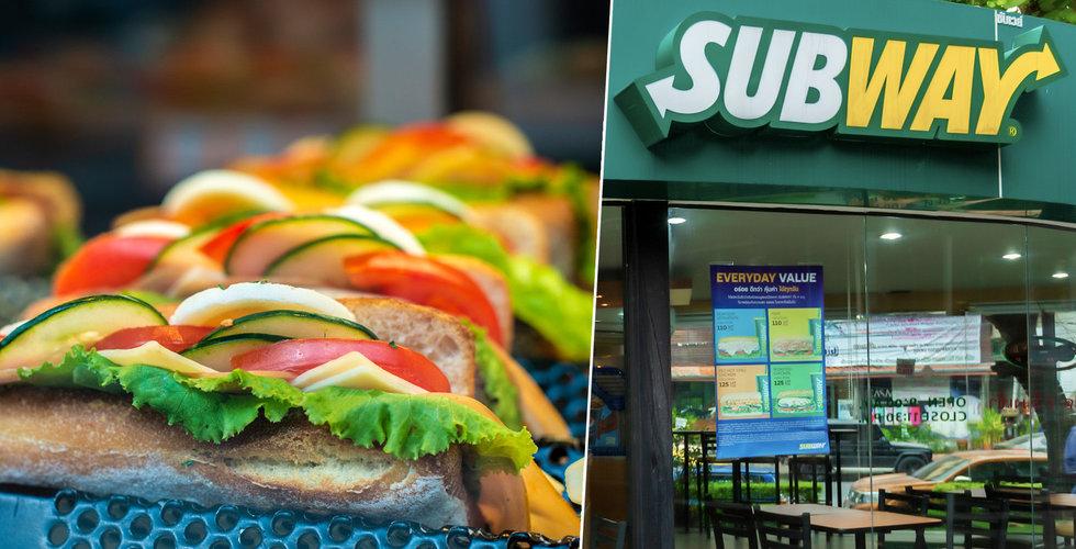 Kris för svenska Subway-restauranger – ansöker om rekonstruktion