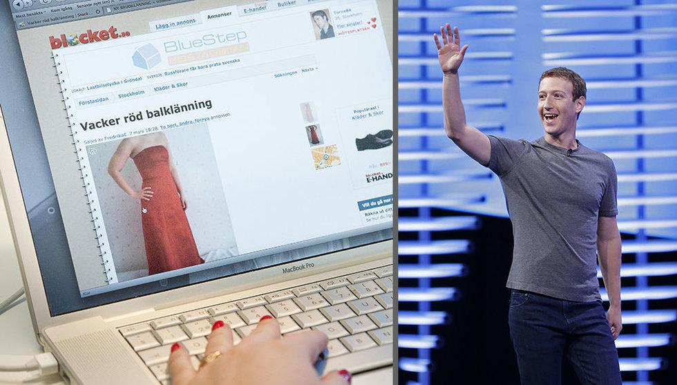 Facebook lanserar ny tjänst – som kan knäcka haltande Blocket