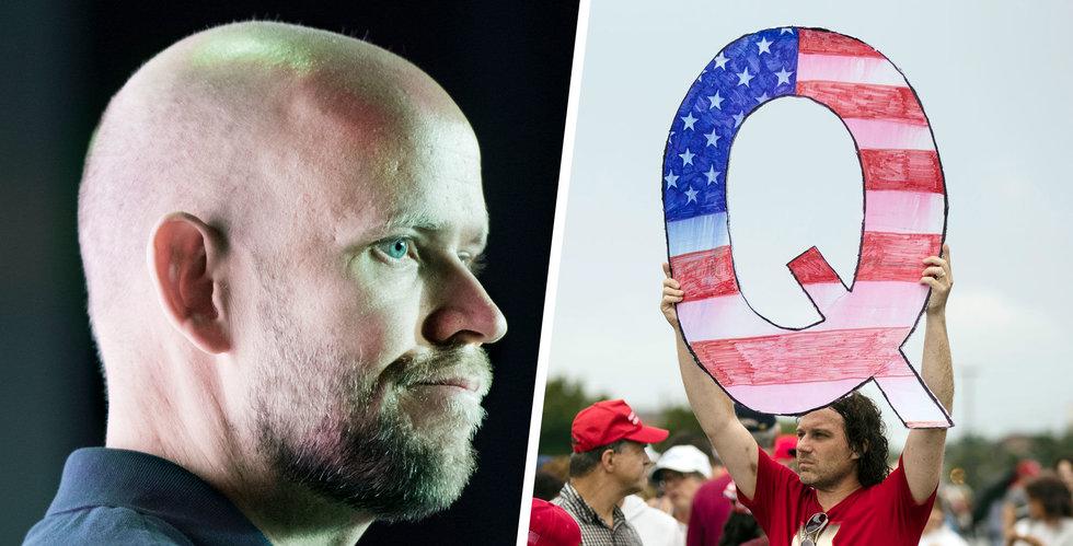 Spotify stänger ned podcasts tillhörande QAnon