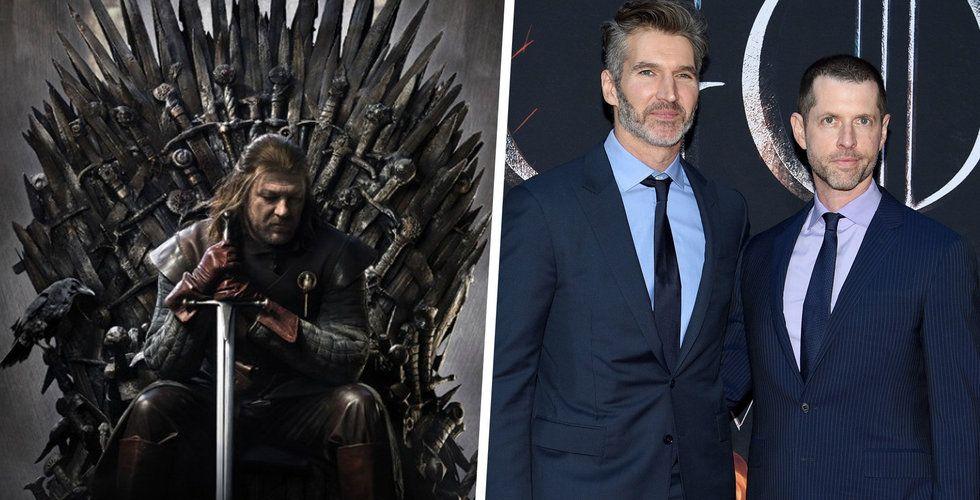 Skapade Game of Thrones – köps av Netflix för 1,9 miljarder