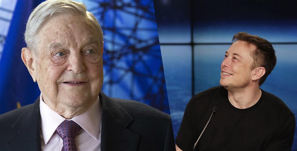 Breakit - George Soros satsar 300 miljoner kronor på Tesla