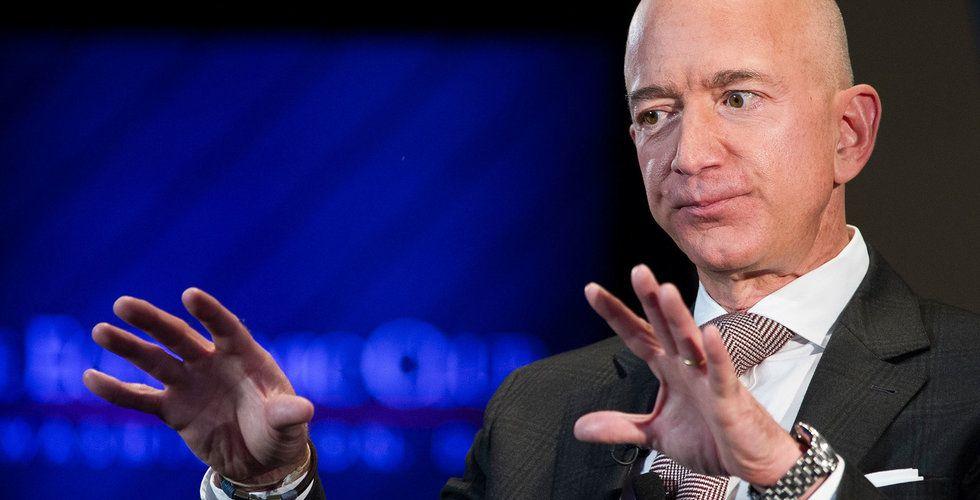Techjättarna rasar på börsen