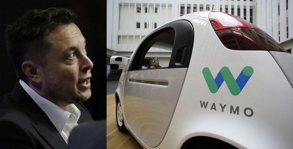 Breakit - Ny rapport: Tesla halkar efter i racet om självkörande bilar