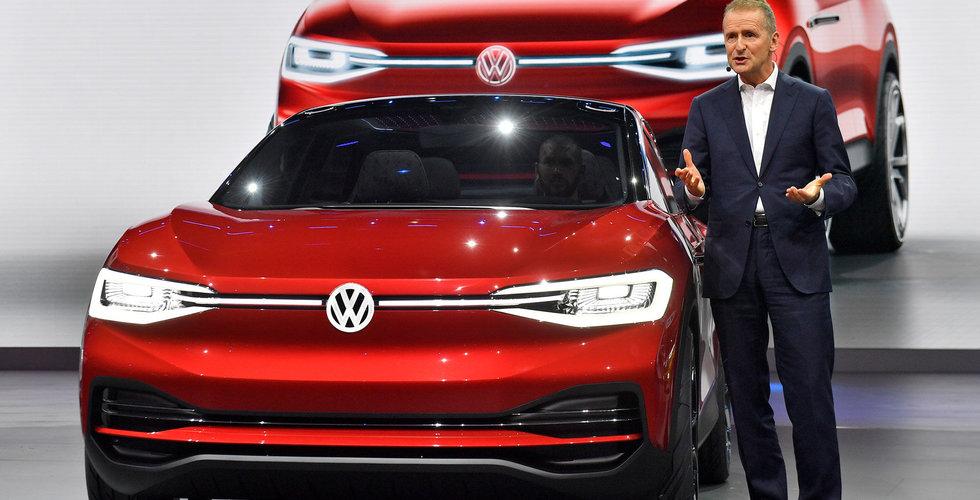Volkswagen ska miljardinvestera i elbilar i Kina