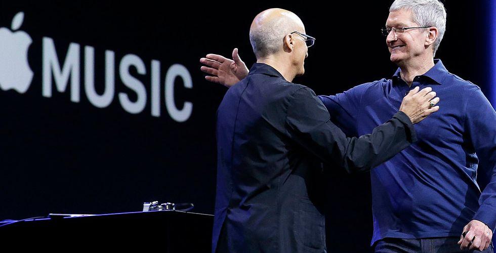 Apple Music dundrar fram – het app kan nu flytta Spotify-listor dit