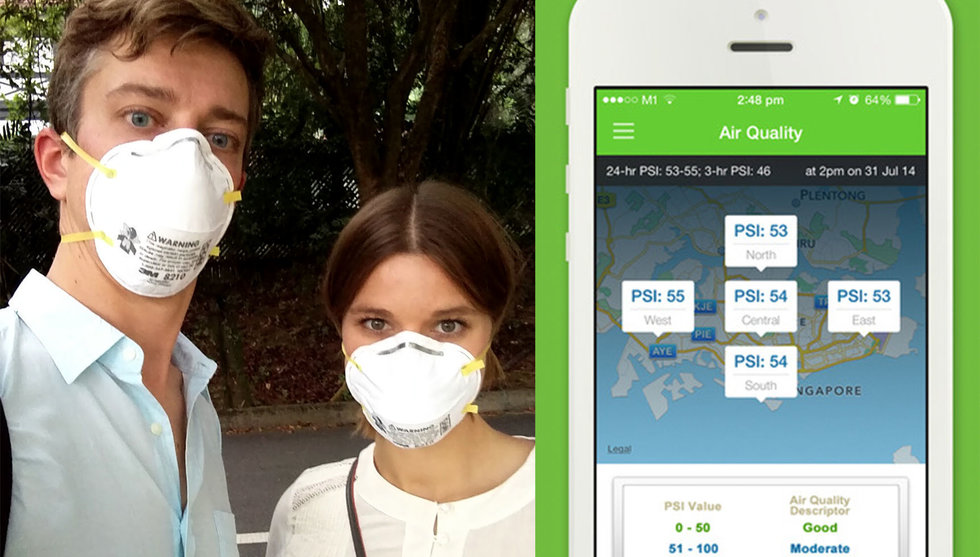 Breakit - The haze in South East Asia and an app we didn't know we'd use