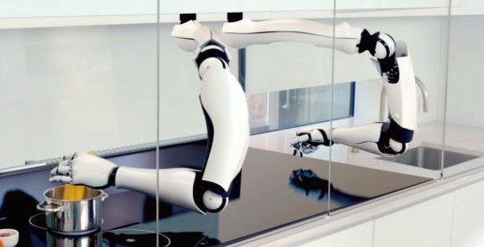 Breakit - Köksrobot rör om i grytan - brittiska Moley Robotics har tagit fram en kockmaskin
