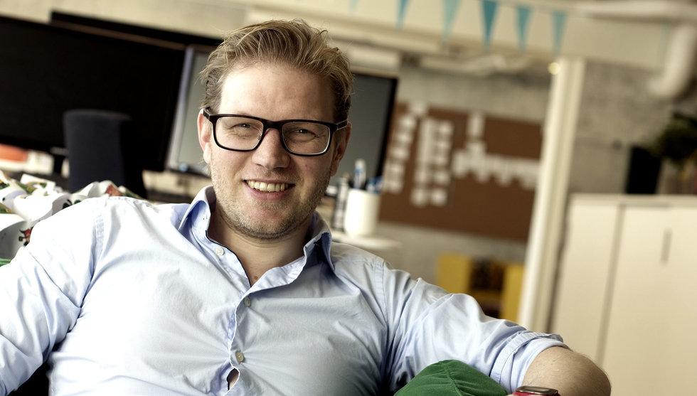Vill bygga nästa techsuccé – men pressen på Niklas Agevik är stor