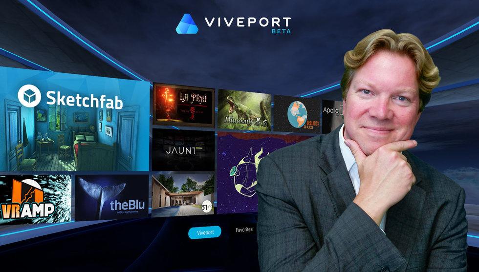 HTC breddar VR-fokuset – tar sin nya appbutik till mobilen