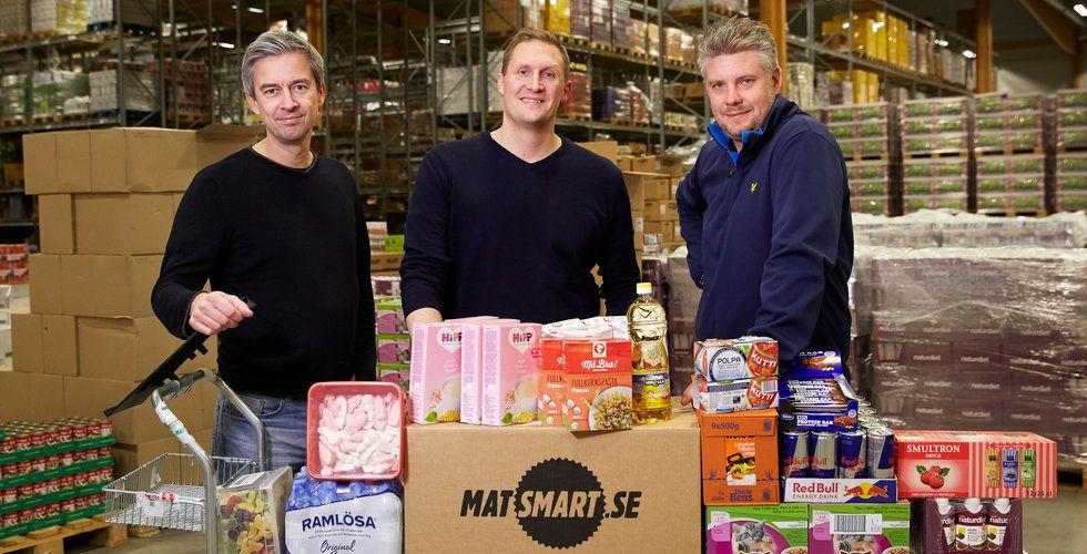 Matsmart omsätter 277 miljoner på mat som andra inte vill sälja