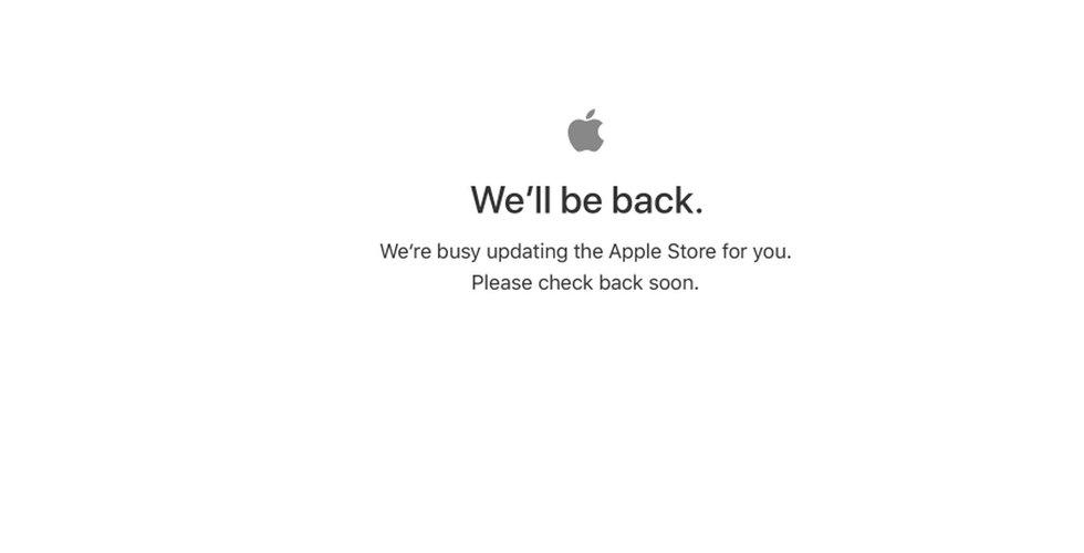 Breakit - Apple Store ligger nere inför kvällens event