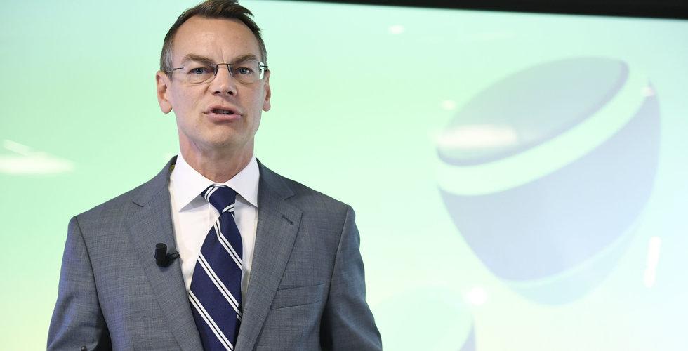 Telia utser finanschefen Christian Luiga till tillförordnad vd