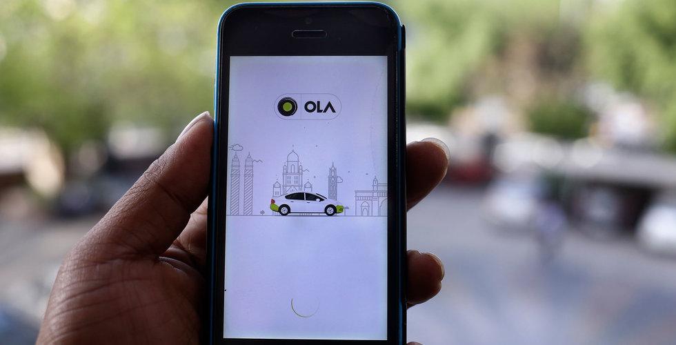 Sydafrikansk mediejätte vill köpa indisk Uber-utmanare