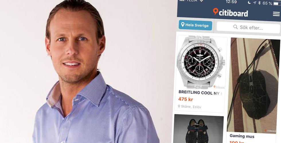 Blocketutmanaren Citiboard säljer plattformen och lämnar Sverige