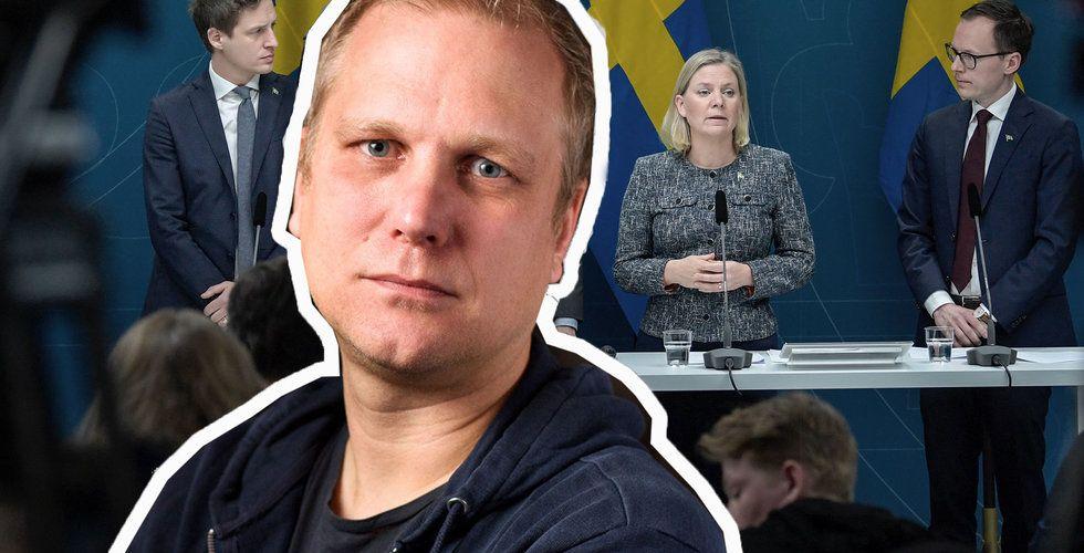 Äntligen – nu gör regeringen något på allvar för Sveriges entreprenörer