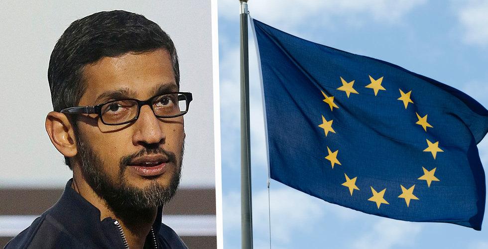 EU dömer Google till miljardböter