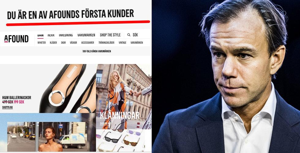 Stark start för H&M:s Afound enligt Karl-Johan Persson