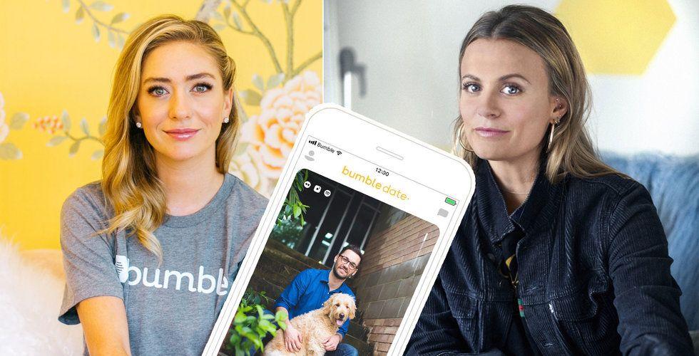 Dejting-appen Bumble vill ge kvinnor makten – satsar på Sverige