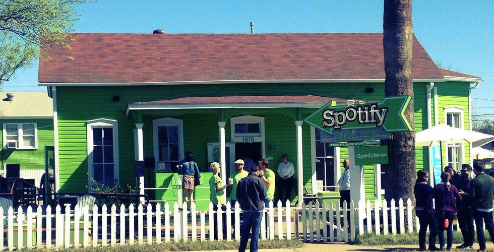 Spotify: Vi står för 10 procent av skivbolagsintäkterna i USA
