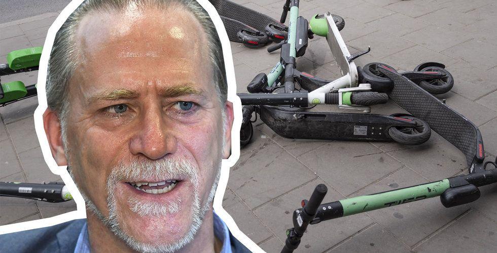 P-vakter ska börja flytta elsparkcyklar i Stockholm