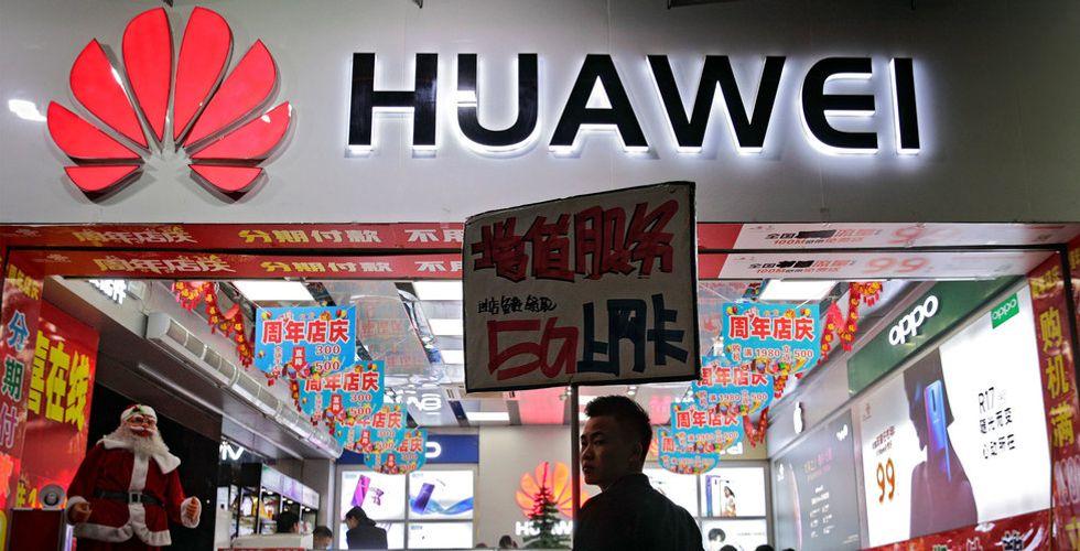 Även Sverige överväger att stänga ute Huawei från 5G-utbyggnad