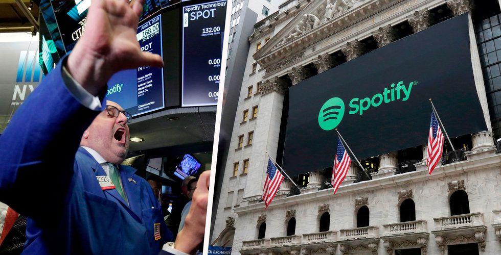 Spotify faller – igen