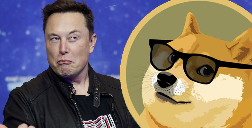 Dogecoin studsar upp och ner efter Elon Musks utspel