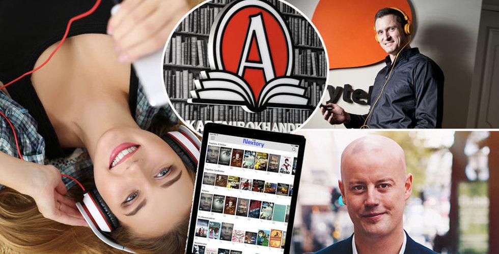 """Explosion för svenska Storytel-utmanarna: """"Vi har bättre marginaler än Spotify"""""""