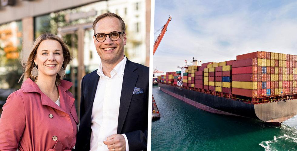 Adnavem vill digitalisera sjötransporter – fyller kassan med 35 miljoner