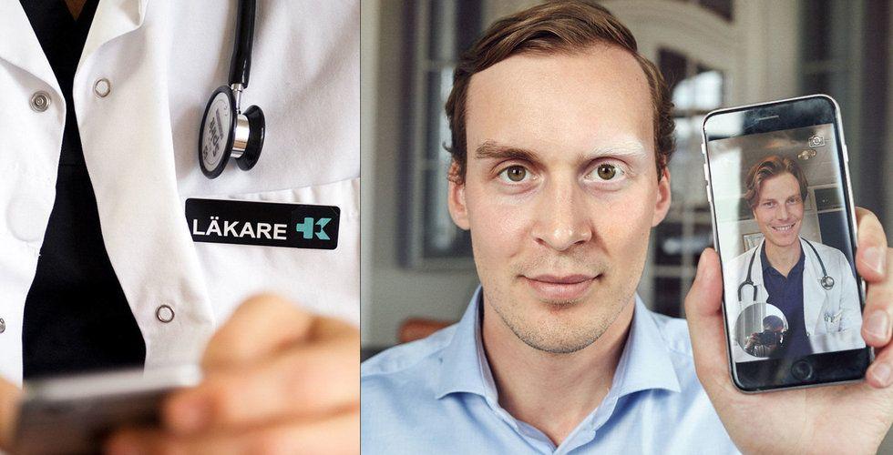 Den digitala läkaren Kry tar in en halv miljard (!) kronor i riskkapital