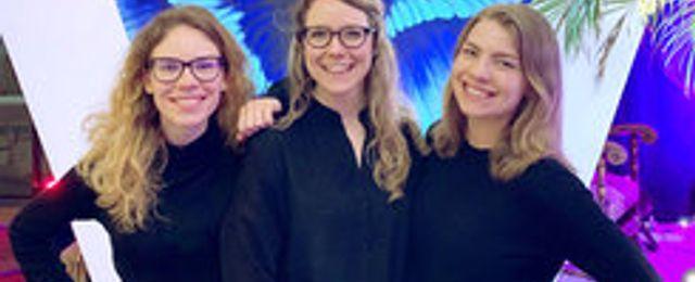 """Trion ska få tonårsflickor att koda: """"Saknas lösningar för flickors intressen"""""""